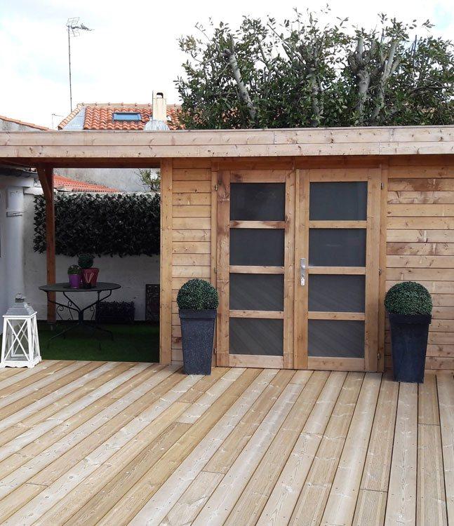 Autour du bois concept fabricant constructeur maison for Constructeur maison bois kit vendee